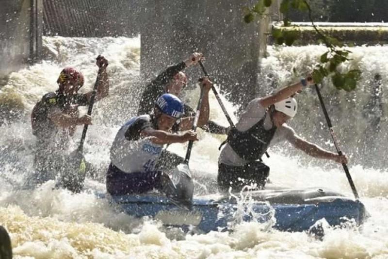 Letzter Härtetest vor Rafting-WM