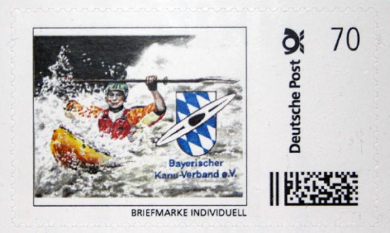Der BKV hat eine eigene 70-Cent-Briefmarke!