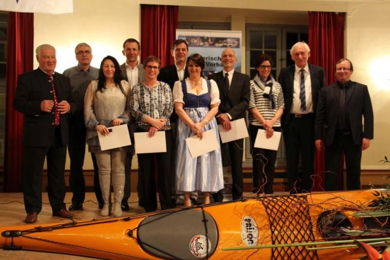 Gewählt, genehmigt, gefeiert beim Bayerischen Kanutag 2017