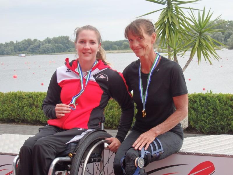 Bayerische Medaillen bei zweiter Station des Deutschland-Cups der Parakanuten