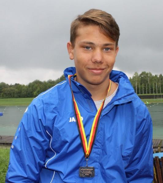 Silber für Elmar Sternath bei den Deutschen Parakanu-Meisterschaften