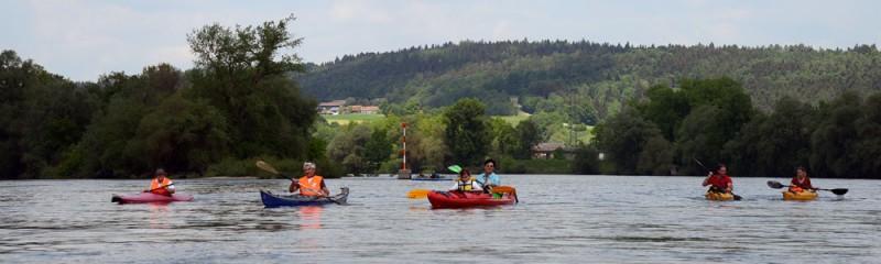 Wanderfahrt zum Fest an der Donau