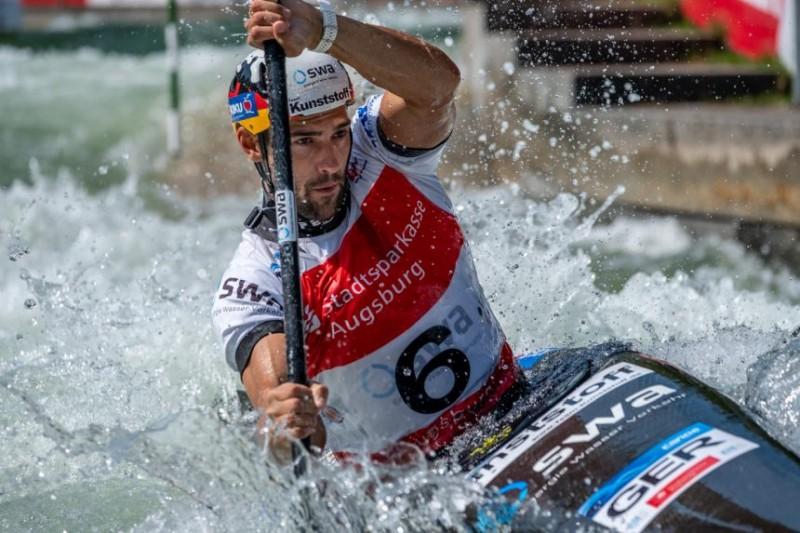Sideris Tasiadis holt Gold bei Heim-Weltcup