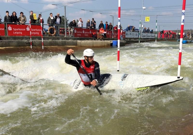 Sideris Tasiadis gewinnt Weltranglistenrennen in Markkleeberg