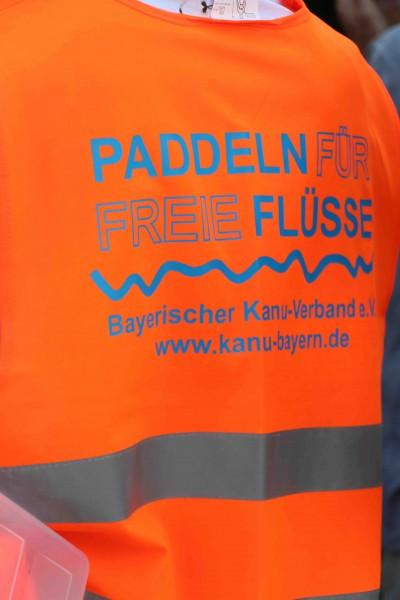 """Demo-Fahrt 2019 """"Für die frei fließende Salzach"""""""