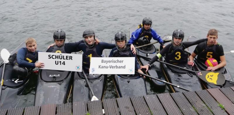 Bayerische U21 gewinnt Bronze beim Bundesländervergleichskampf Kanupolo