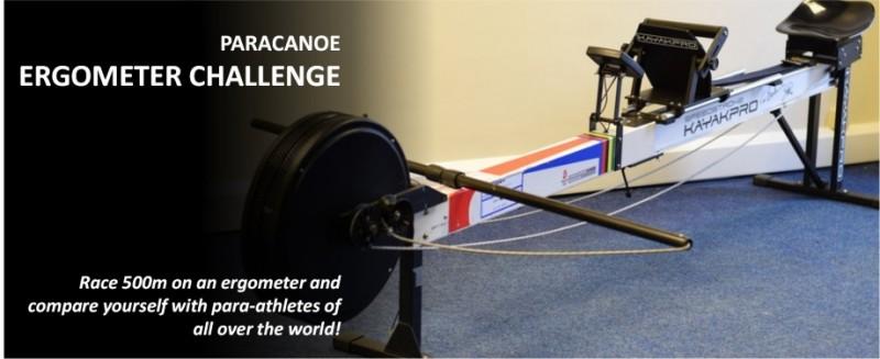 Ergometer-Challenge für Para Kanuten weltweit