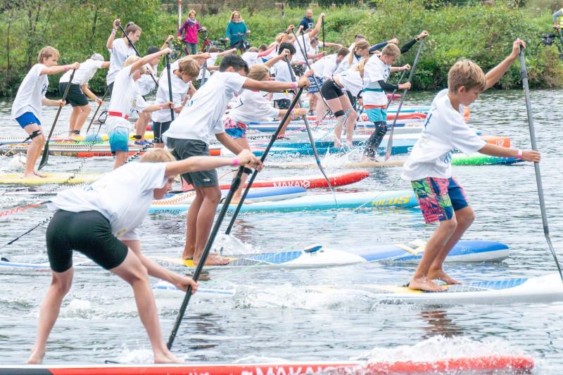 Starkes Saiaonfinale der Bayerischen SUP Paddler:innen